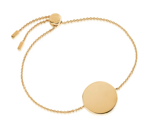 Bracelet Follina Pianura Grande - 18k gold plated