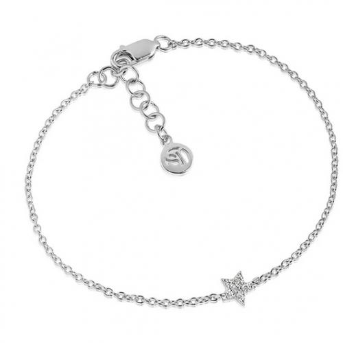 Bracelet Mira with white zirconia