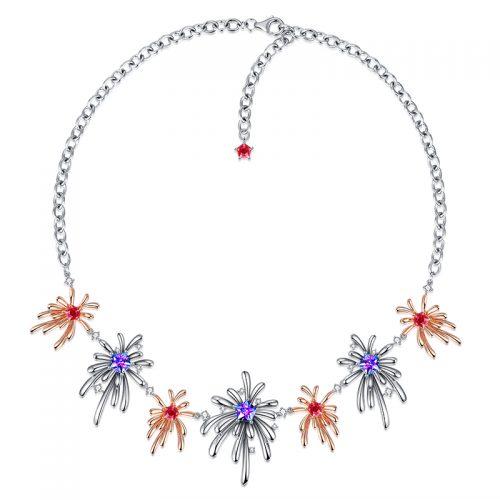 Carpe Diem Crossette Choker Necklace 2