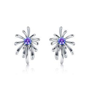 Carpe Diem Crossette Stud Earrings 3