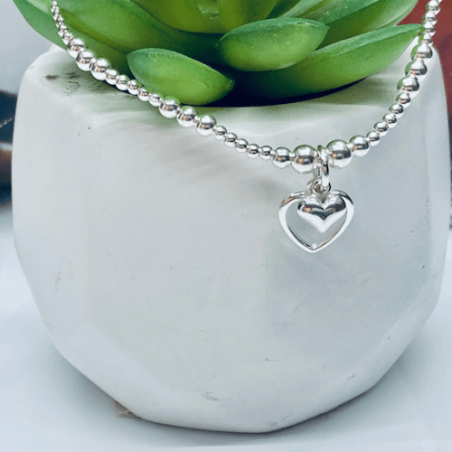 Dollie Jewellery Alicia Double Heart Bracelet