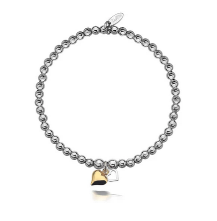 Dollie Jewellery Gigi Golden Hearts Bracelet