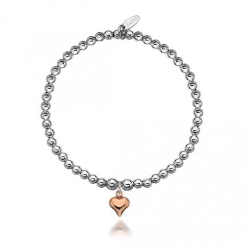 Gigi Rose Heart Bracelet