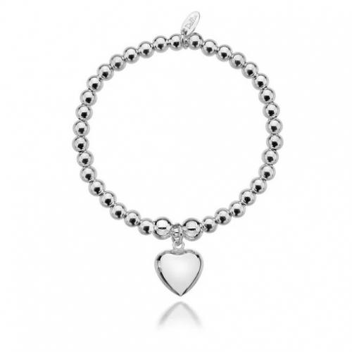 Sophia Big Heart Bracelet