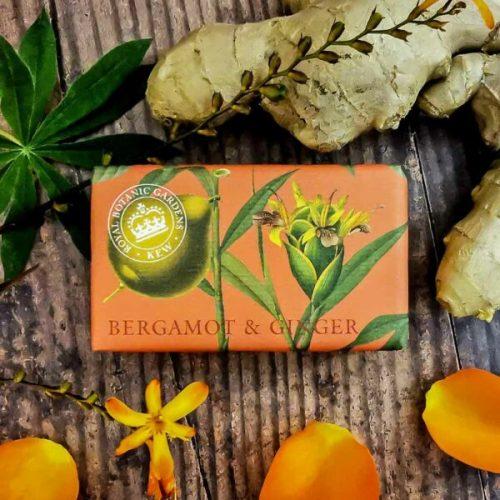 Kew Garden Soap Bergamot Ginger