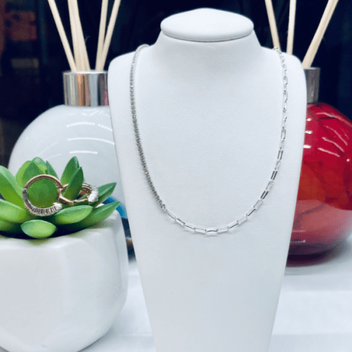 Sif Jakobs Necklace Ellera with white zirconiaNecklace