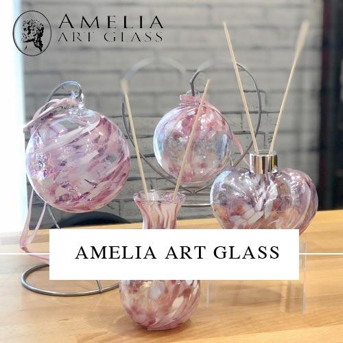 Amelia Art Glass
