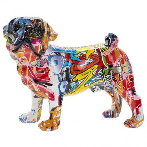 graffiti art pug