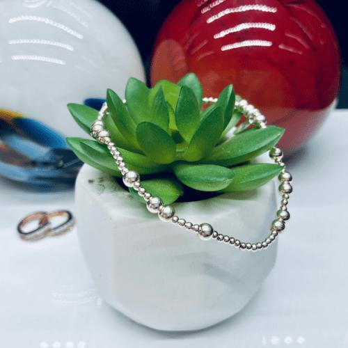 Dollie Jewellery Midi Popcorn Bracelet.