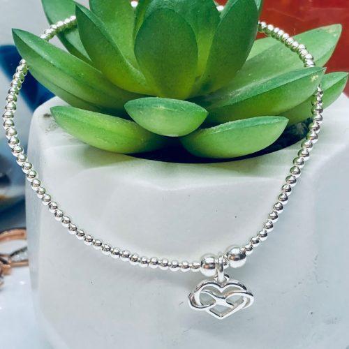 Dollie jewellery Infinity Heart Bracelet