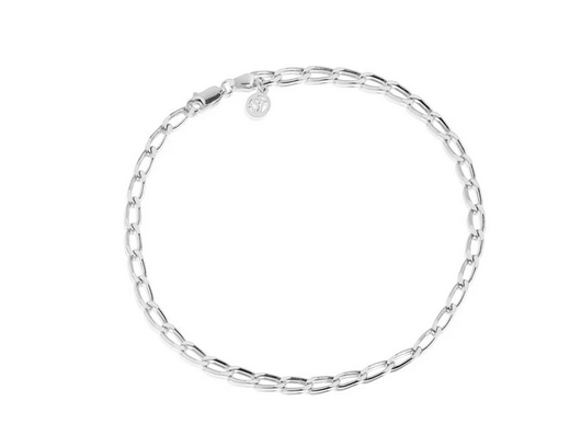 Sif Jakobs Ankle Chain Cheval Silver