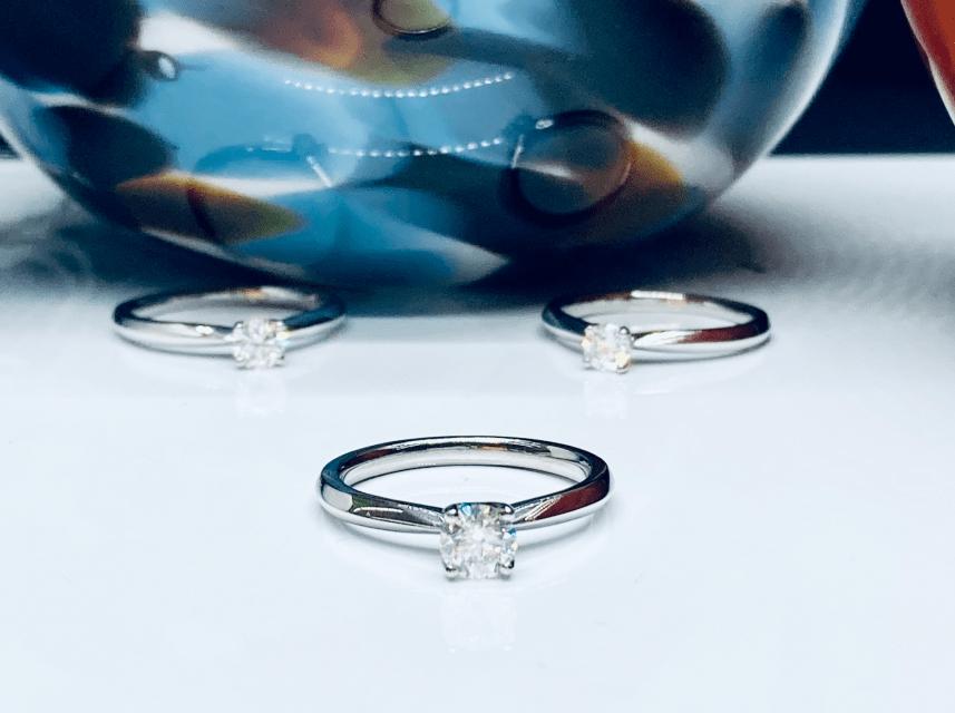0.50ct Diamond Solitaire Engagement Ring in Platinum